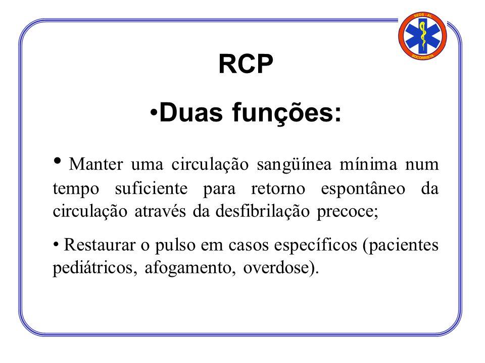 RCP Duas funções: