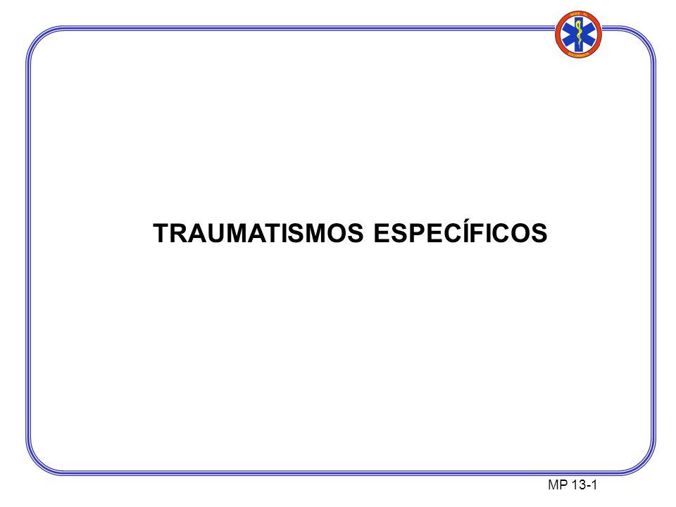 TRAUMATISMOS ESPECÍFICOS