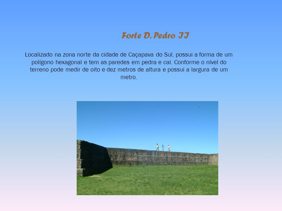 Forte D. Pedro II