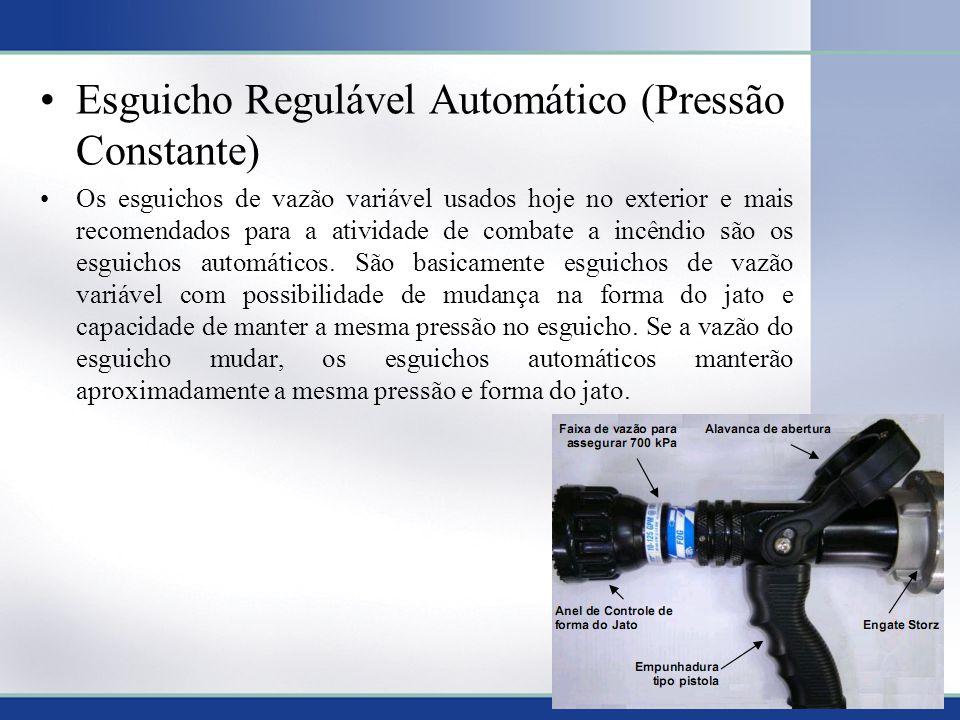 Esguicho Regulável Automático (Pressão Constante)