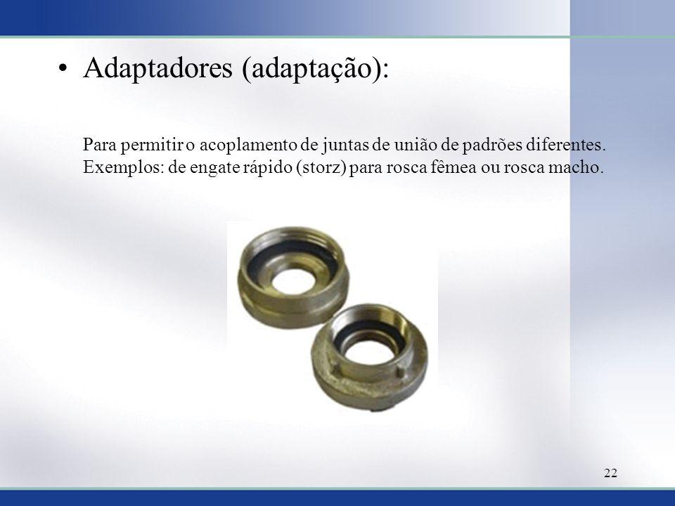 Adaptadores (adaptação):