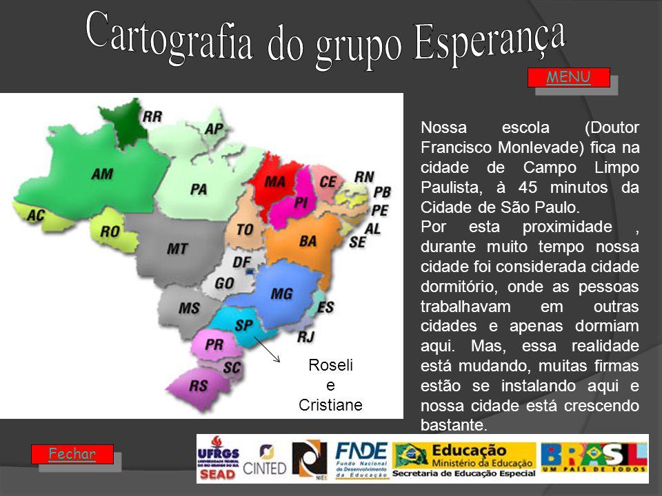 Cartografia do grupo Esperança
