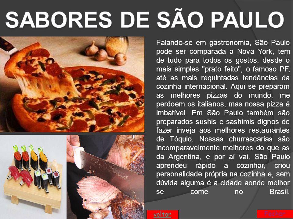 SABORES DE SÃO PAULO