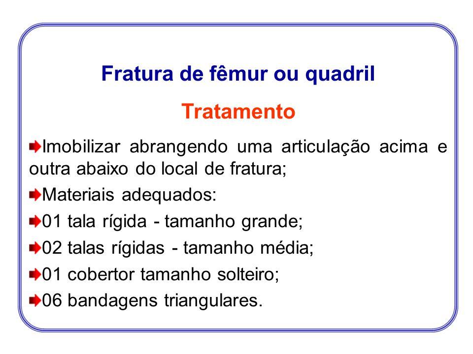 Fratura de fêmur ou quadril