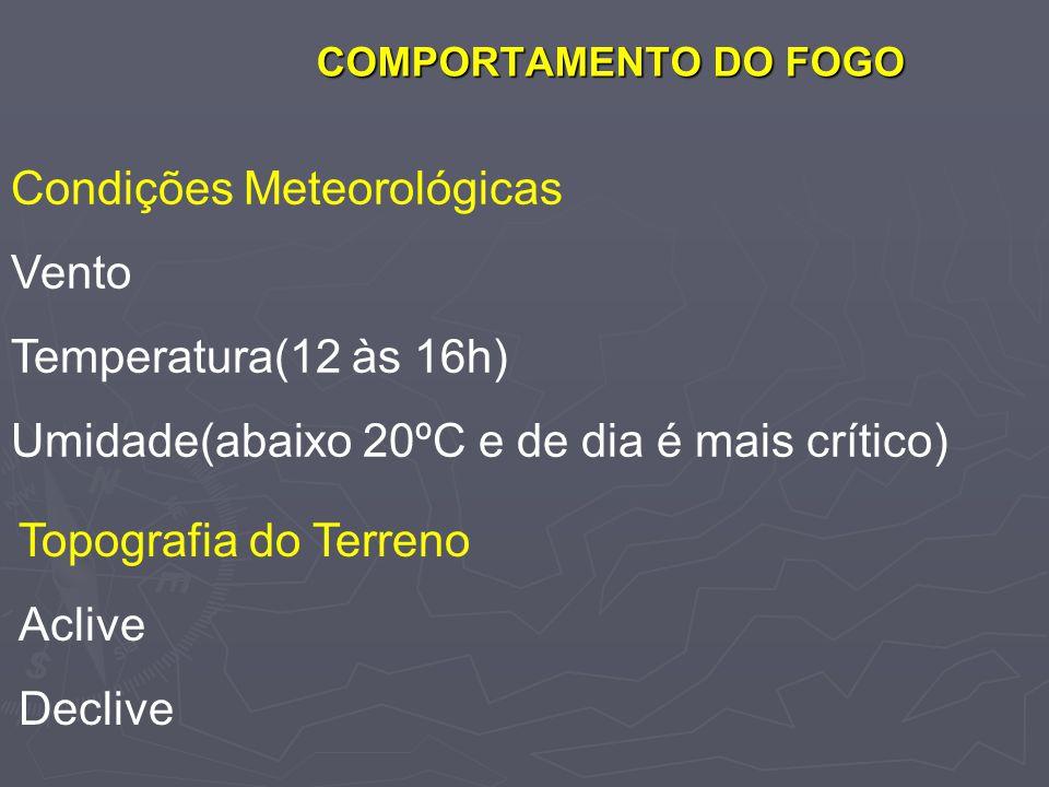 Condições Meteorológicas Vento Temperatura(12 às 16h)