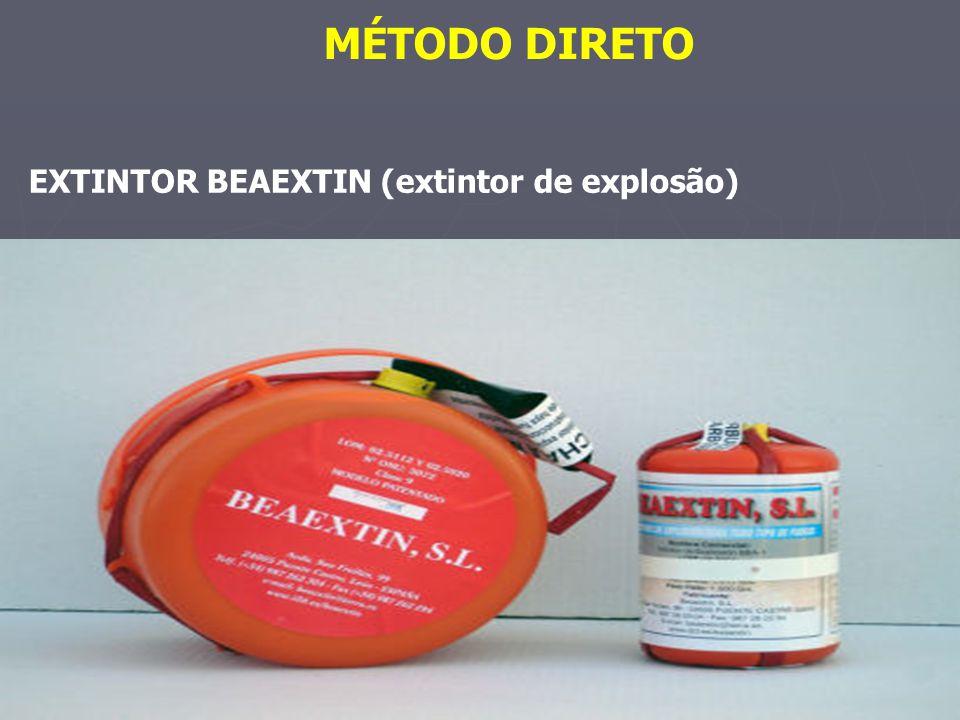 MÉTODO DIRETO EXTINTOR BEAEXTIN (extintor de explosão)