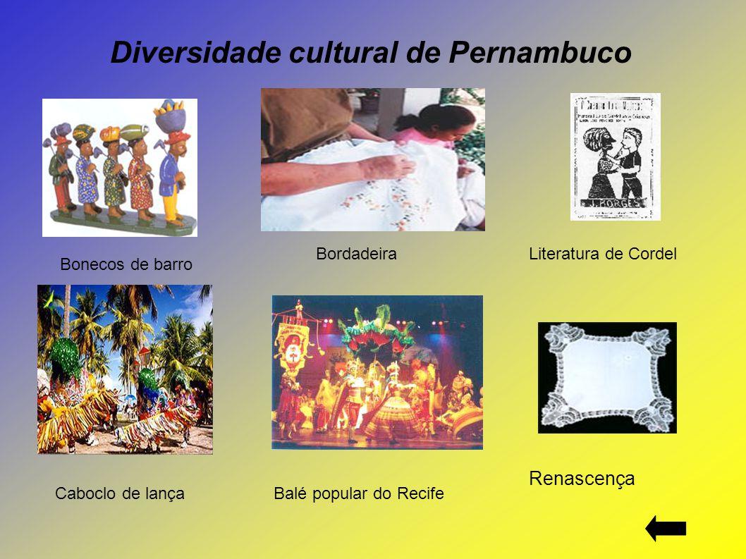 Diversidade cultural de Pernambuco