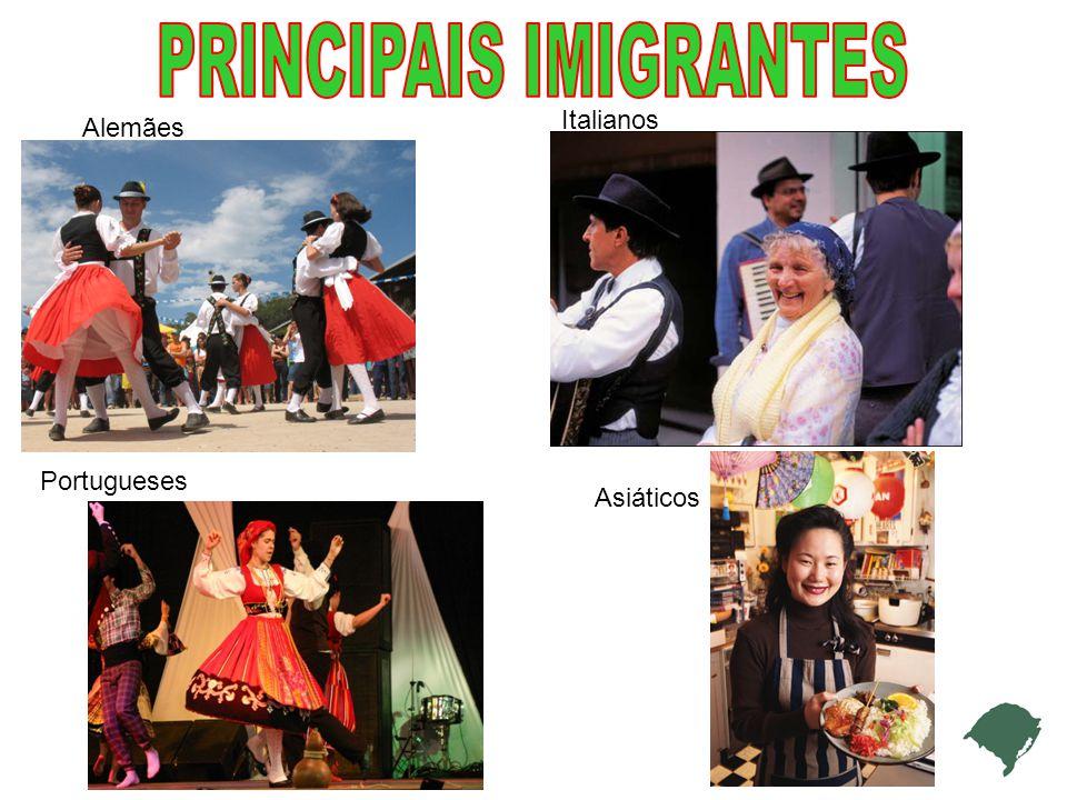 PRINCIPAIS IMIGRANTES