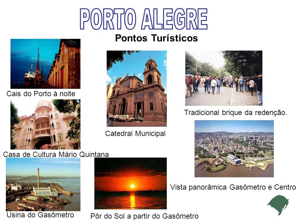 PORTO ALEGRE Pontos Turísticos Cais do Porto à noite
