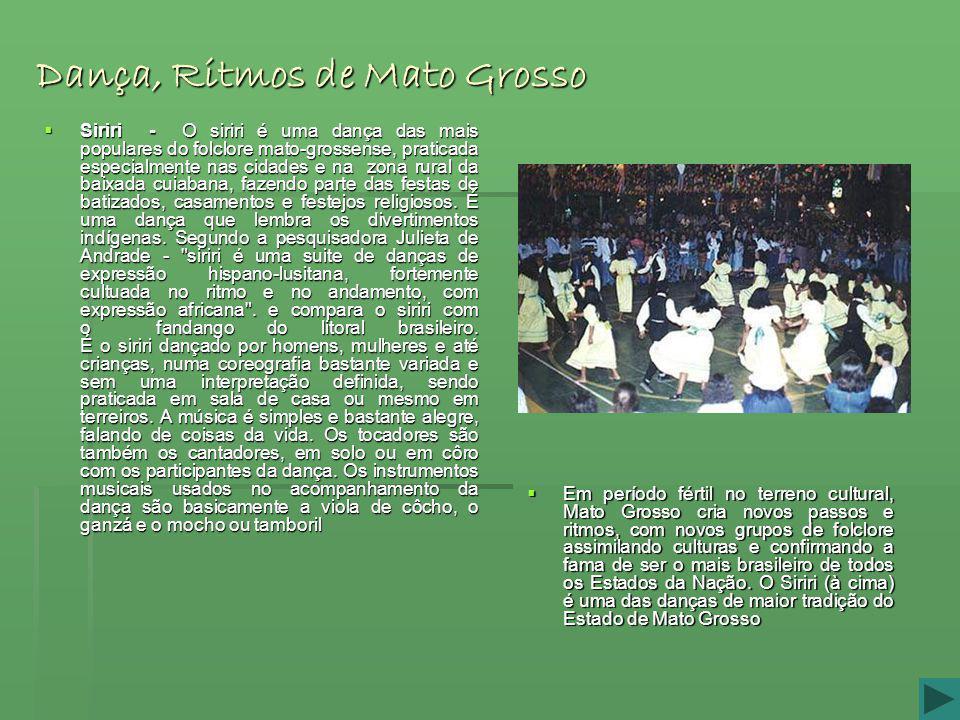 Dança, Ritmos de Mato Grosso