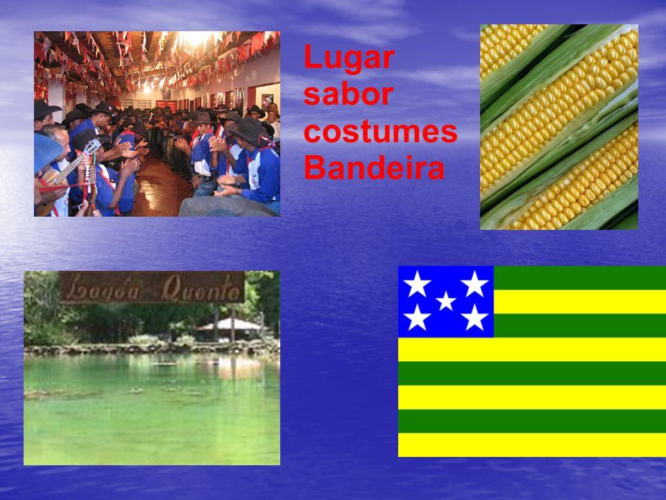 Lugar sabor costumes Bandeira