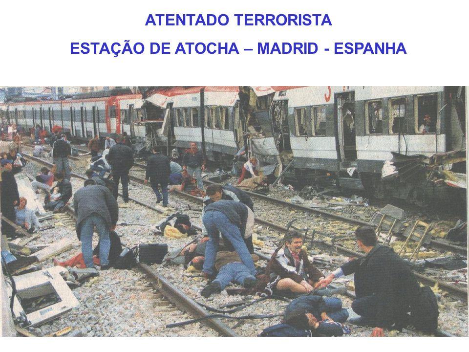 ESTAÇÃO DE ATOCHA – MADRID - ESPANHA