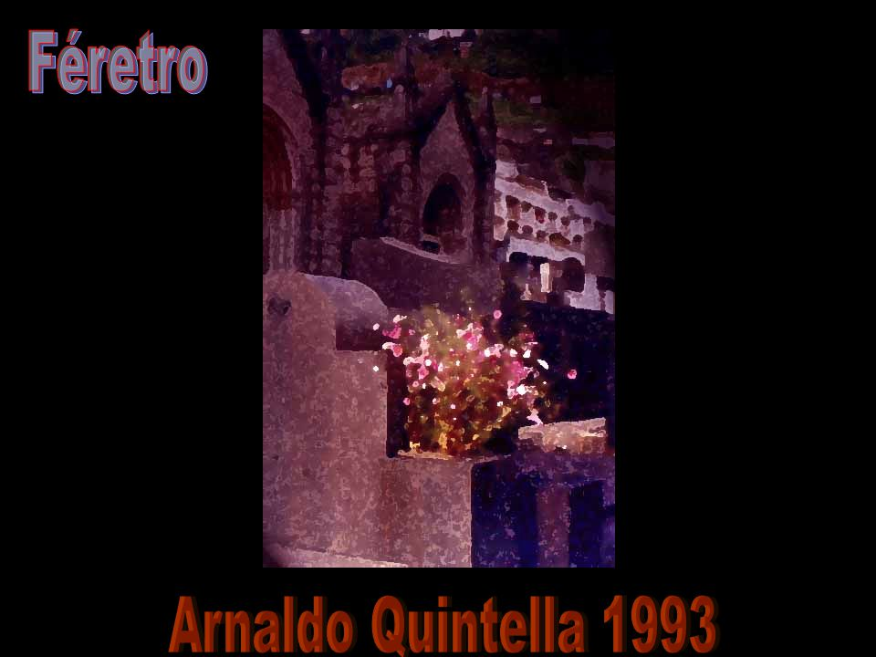 Féretro Arnaldo Quintella 1993