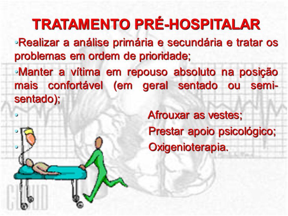 TRATAMENTO PRÉ-HOSPITALAR