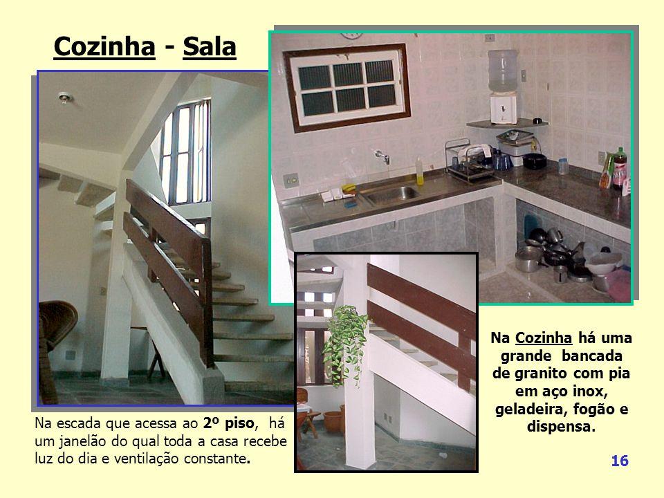 Cozinha - Sala Grande Praia