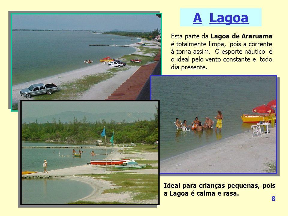 A Lagoa Esta parte da Lagoa de Araruama