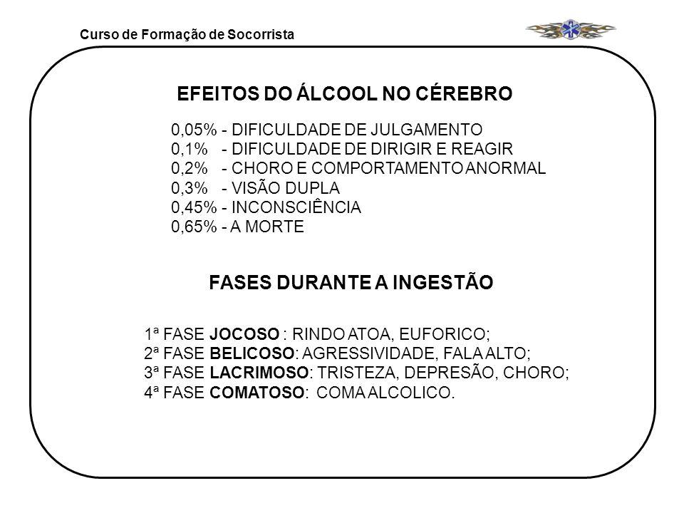 EFEITOS DO ÁLCOOL NO CÉREBRO