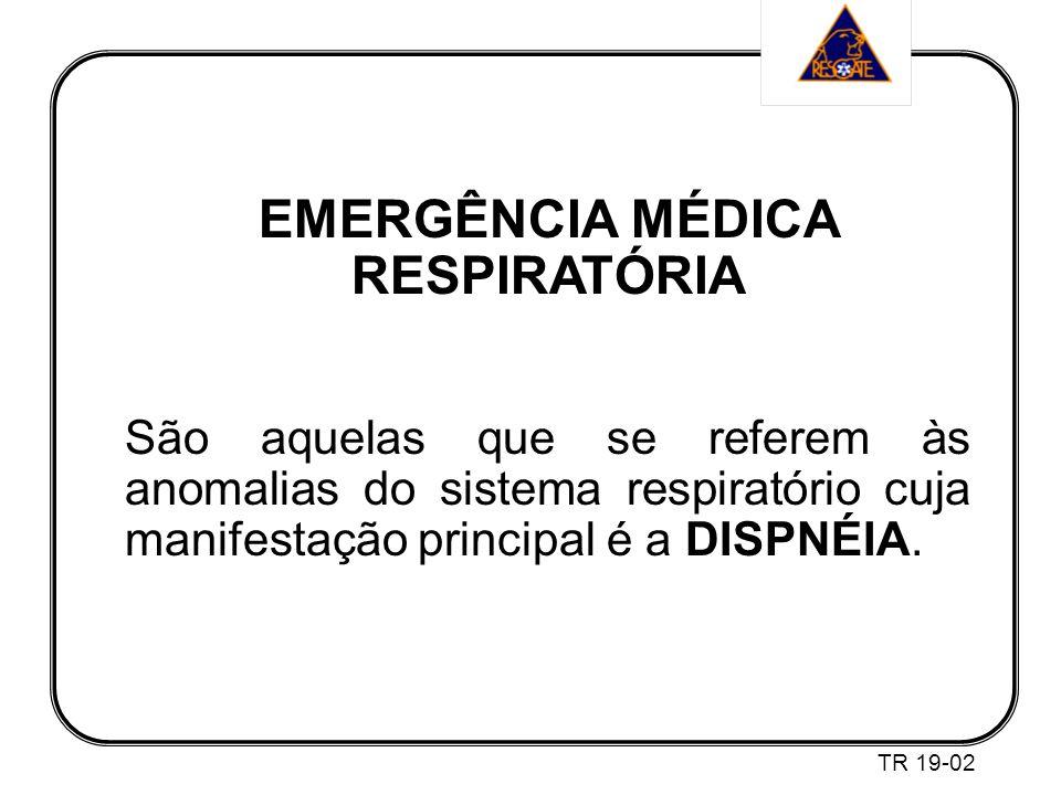 EMERGÊNCIA MÉDICA RESPIRATÓRIA
