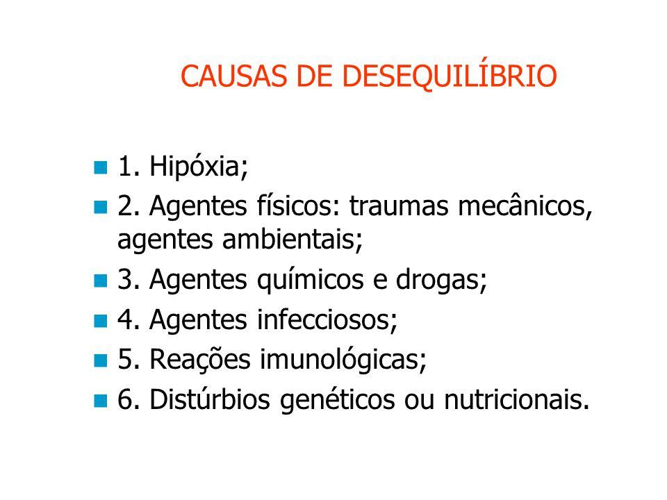 CAUSAS DE DESEQUILÍBRIO