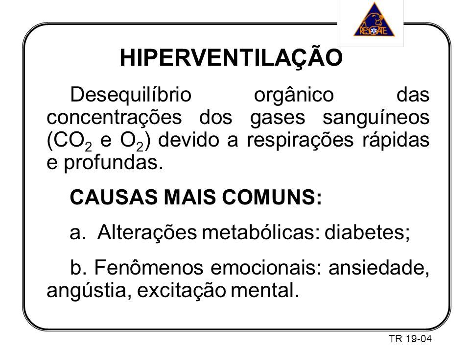 a. Alterações metabólicas: diabetes;