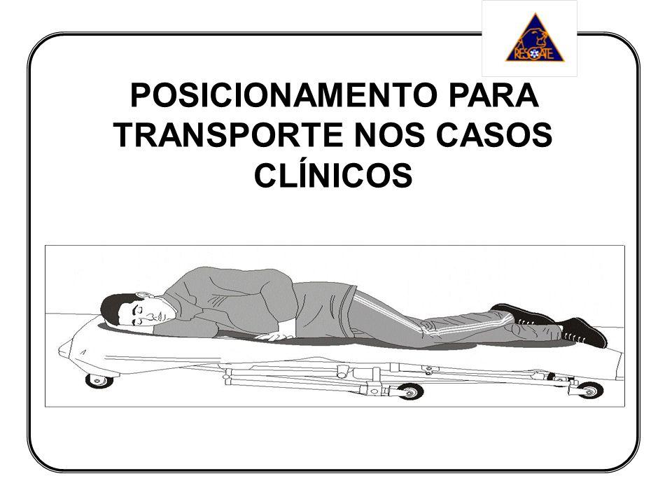 POSICIONAMENTO PARA TRANSPORTE NOS CASOS CLÍNICOS