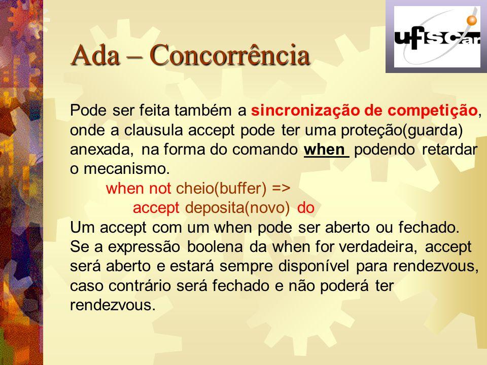 Ada – Concorrência