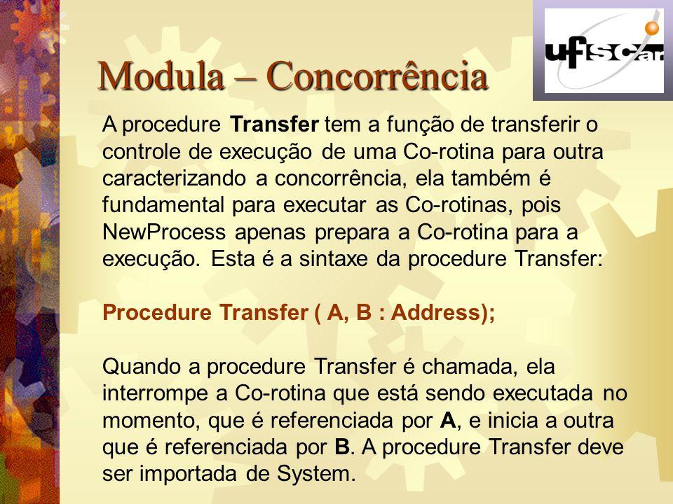 Modula – Concorrência