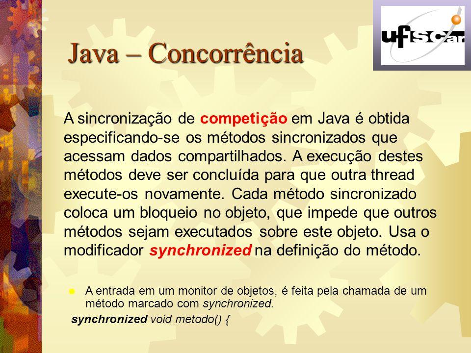 Java – Concorrência