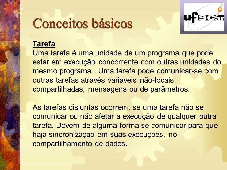 Conceitos básicos Tarefa