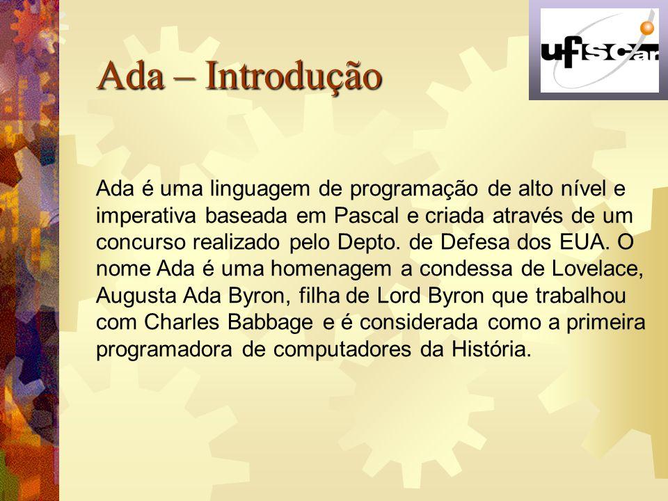 Ada – Introdução