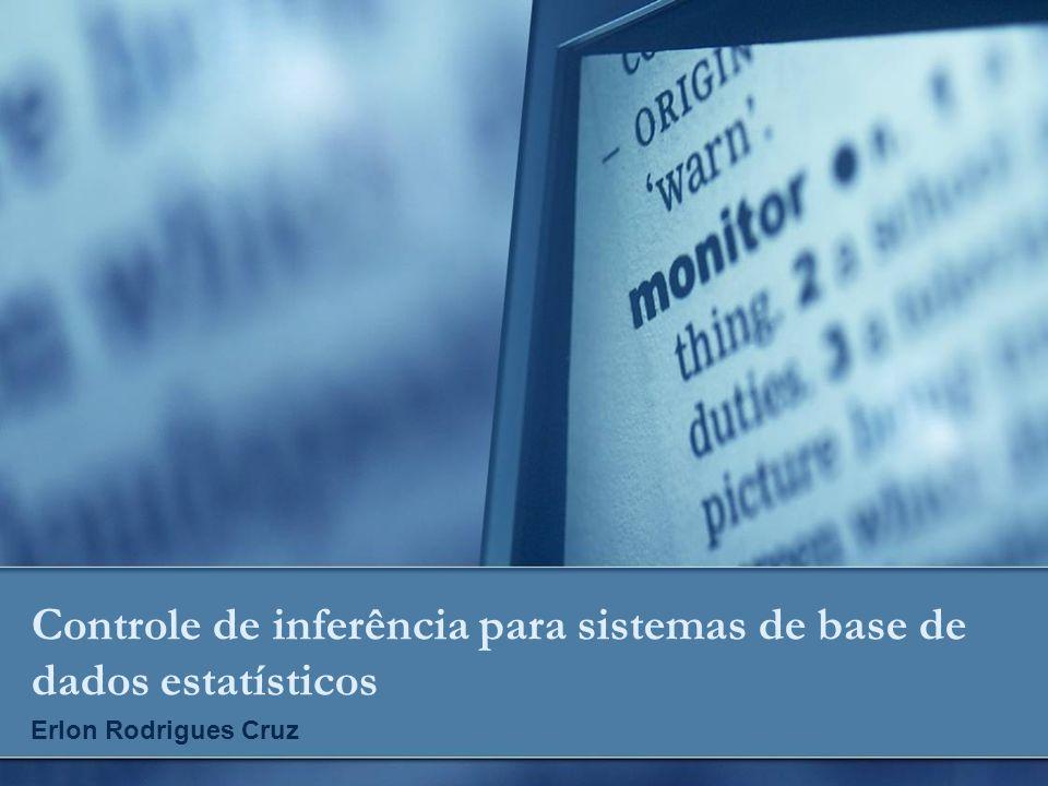 Controle de inferência para sistemas de base de dados estatísticos