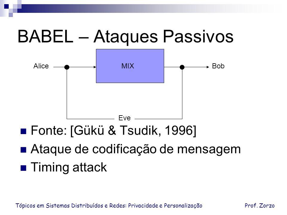 BABEL – Ataques Passivos