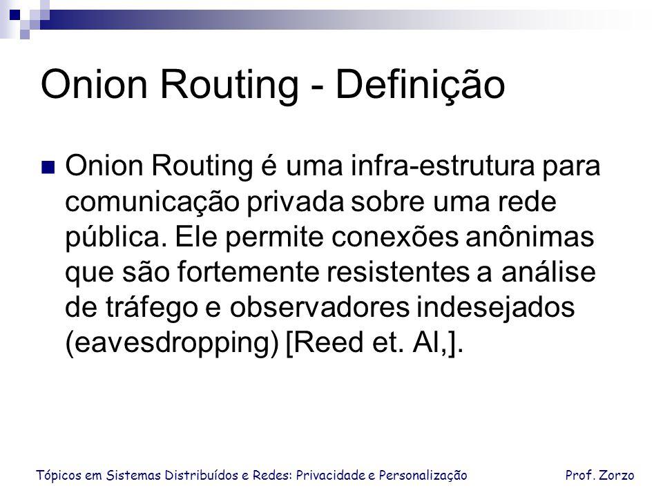 Onion Routing - Definição