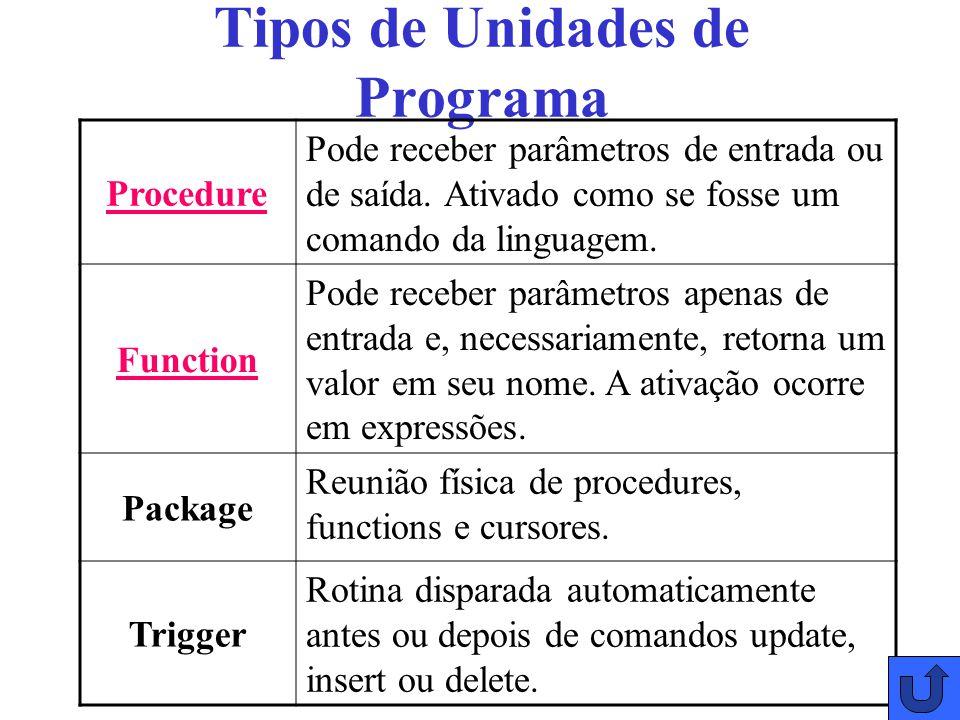 Tipos de Unidades de Programa