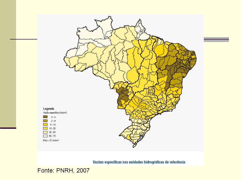 Fonte: PNRH, 2007