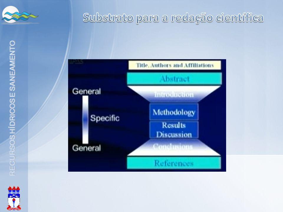 Substrato para a redação científica