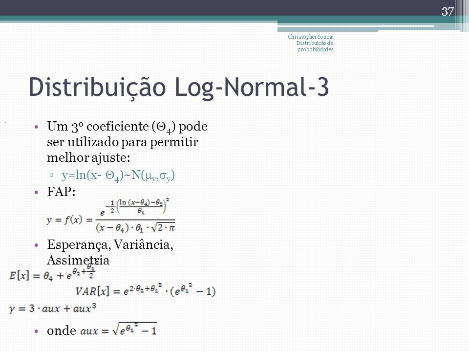 Distribuição Log-Normal-3