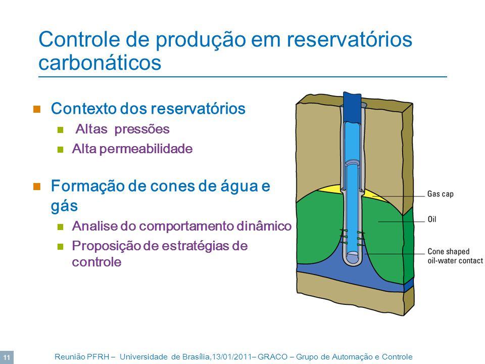 Controle de produção em reservatórios carbonáticos