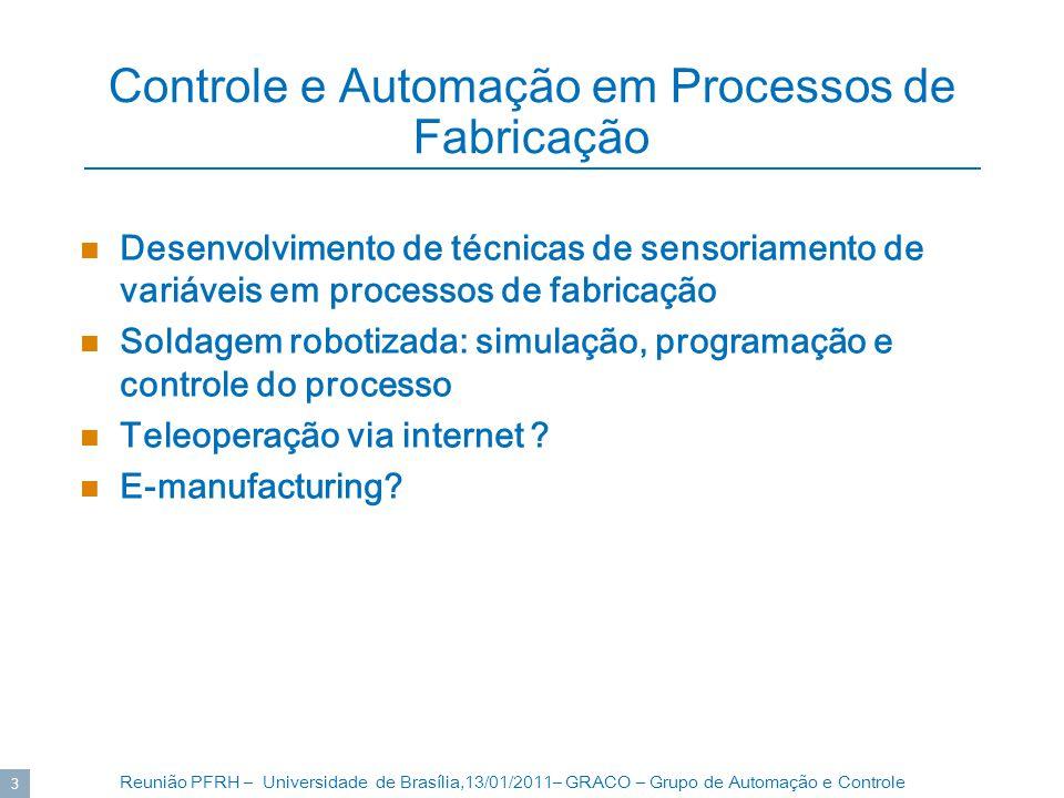 Controle e Automação em Processos de Fabricação