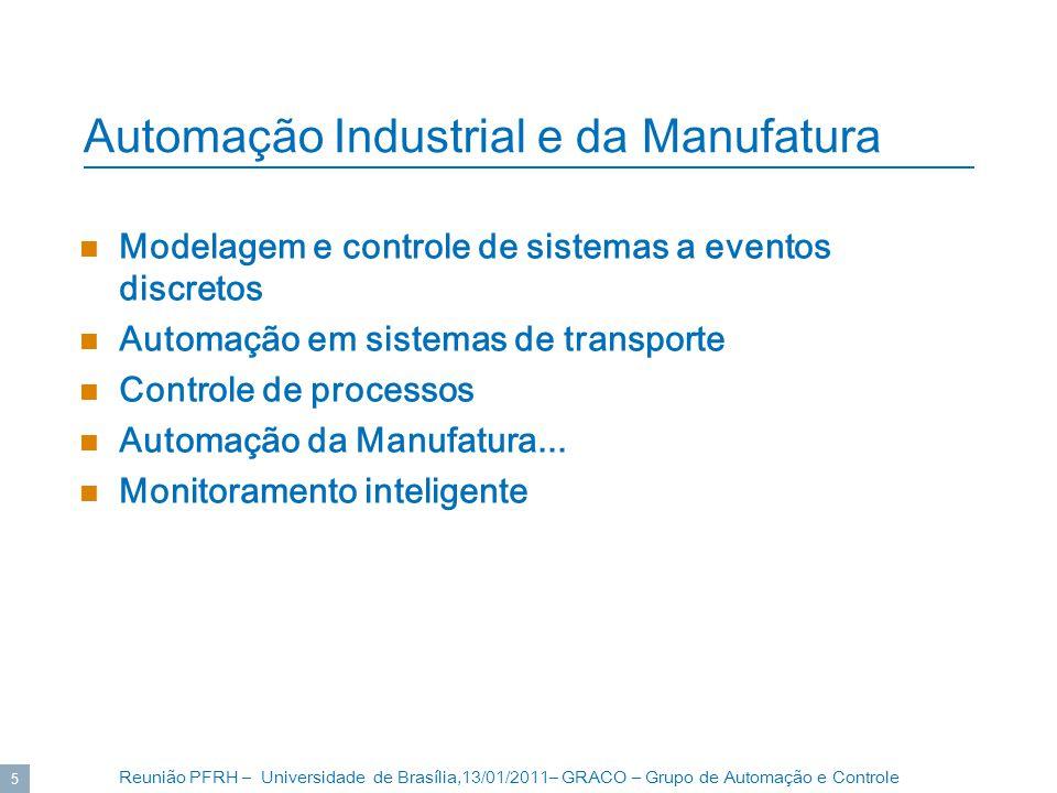 Automação Industrial e da Manufatura