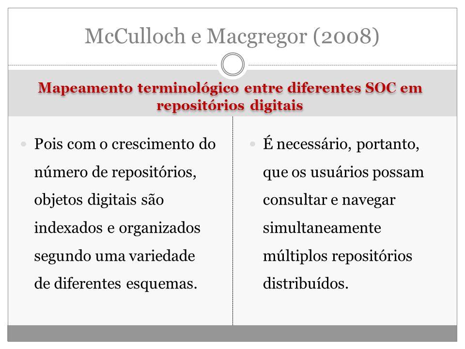 McCulloch e Macgregor (2008)