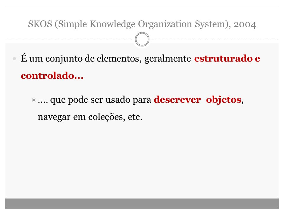 SKOS (Simple Knowledge Organization System), 2004