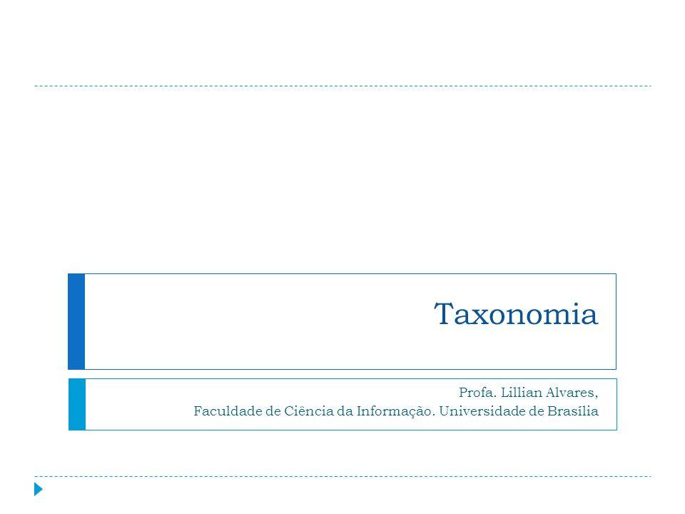 Taxonomia Profa. Lillian Alvares,
