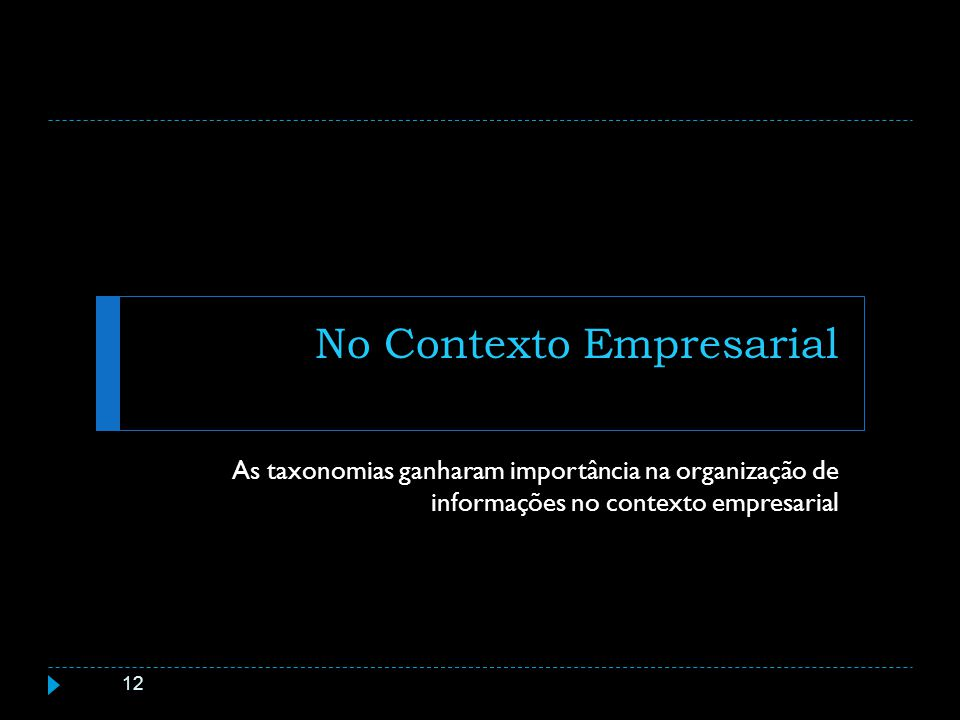No Contexto Empresarial