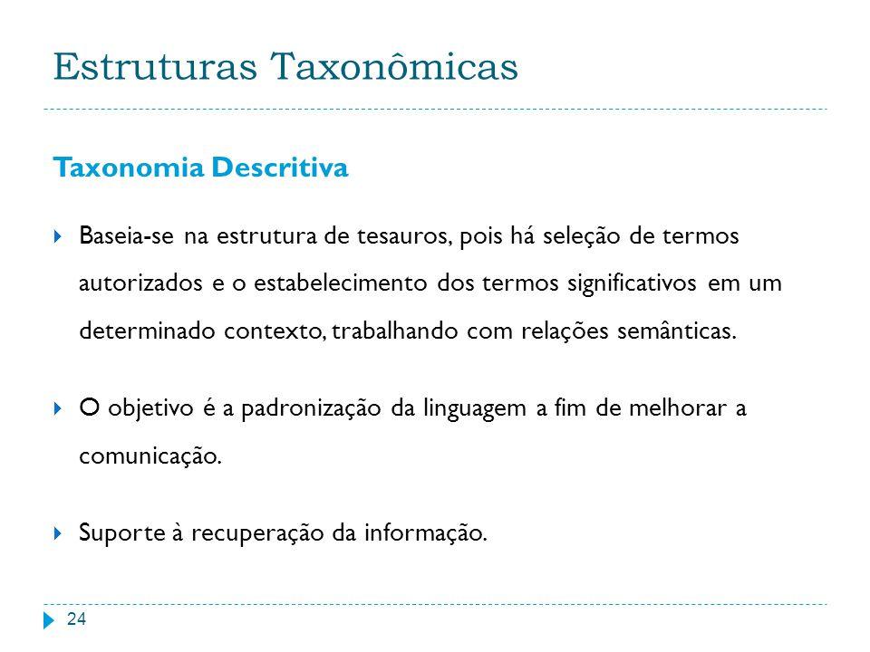 Estruturas Taxonômicas