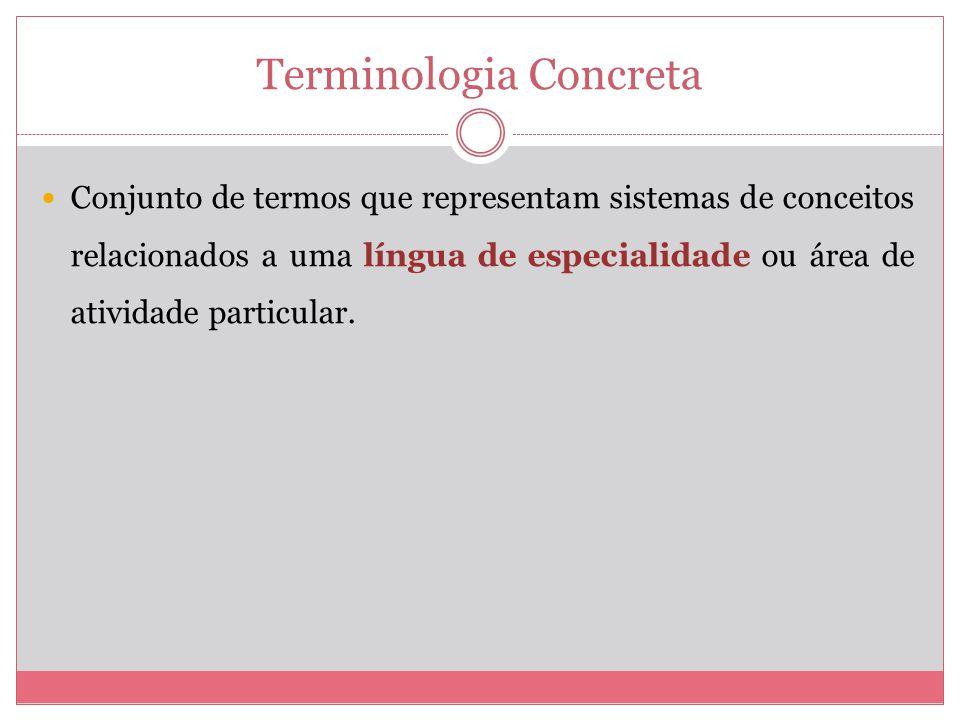 Terminologia Concreta