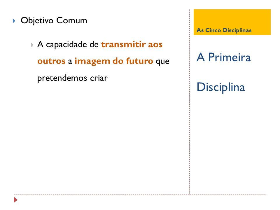 A Primeira Disciplina Objetivo Comum