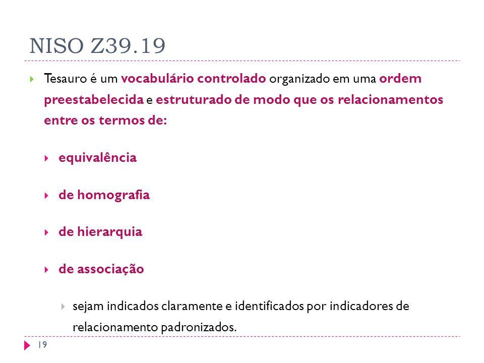 NISO Z39.19