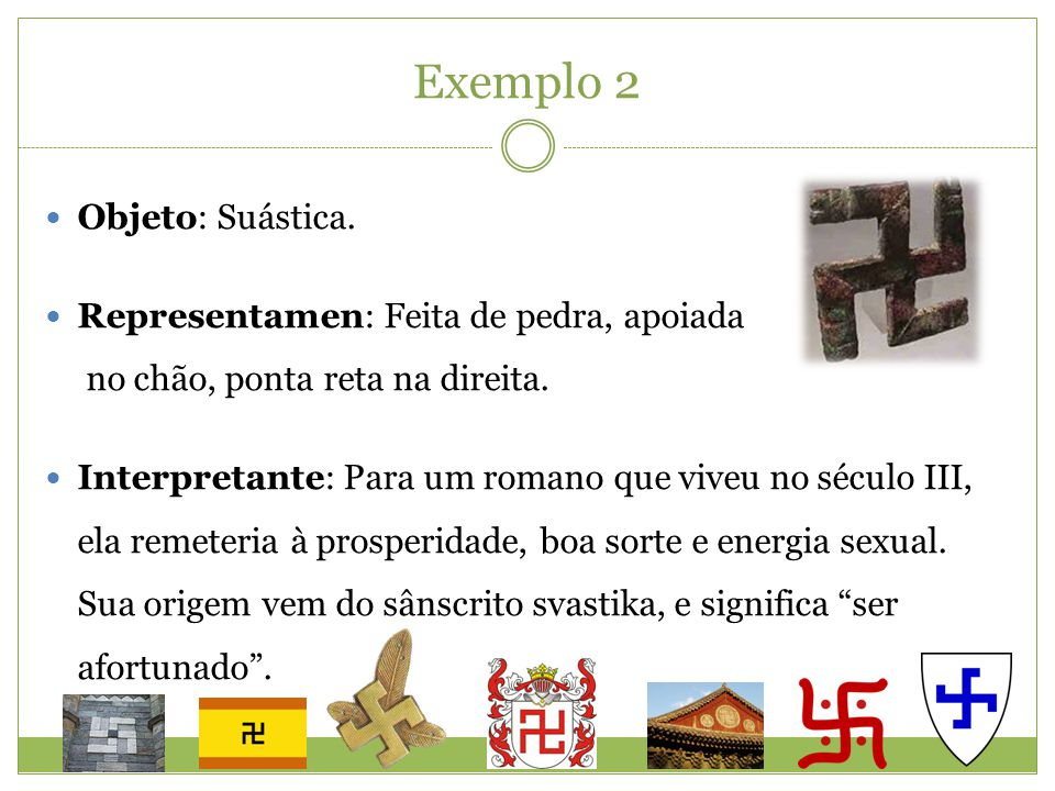 Exemplo 2 Objeto: Suástica.