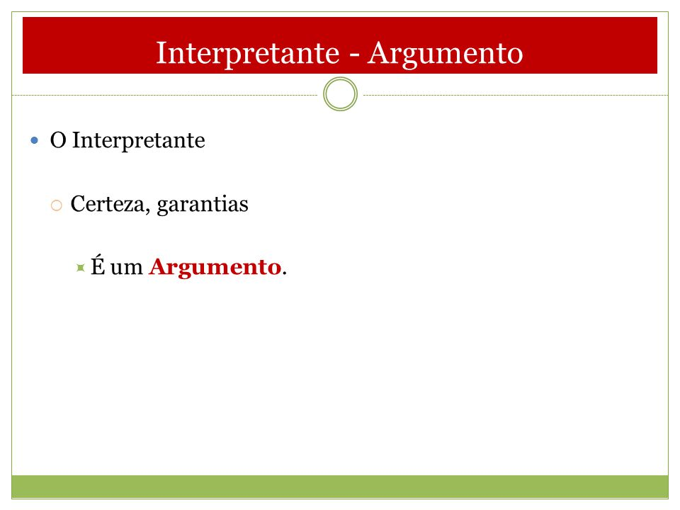 Interpretante - Argumento